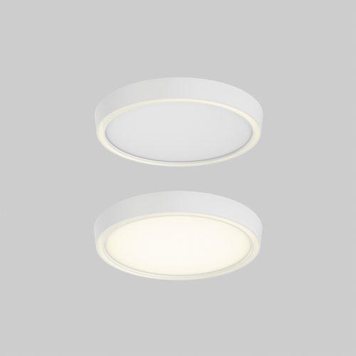 DALS Lighting White LED 1200 Lumen Flush Mount