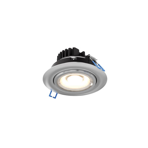 Satin Nickel LED 1130 Lumen Recessed Ceiling Light
