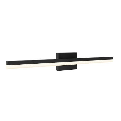 Black 22W Three-Inch LED Bath Vanity