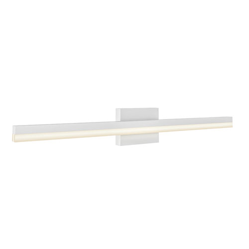 Satin Nickel 22W Three-Inch LED Bath Vanity