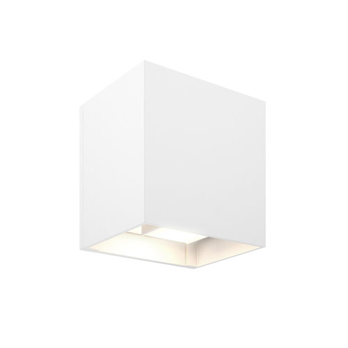 White LED 300 Lumen Outdoor Wall Sconce
