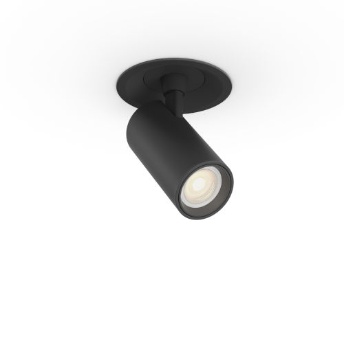 Black Multi Functional LED Recessed Light with Adjustable Beam