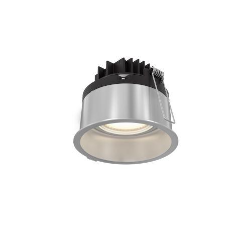 Satin Nickel Four-Inch ADA LED Gimbal Recessed Light