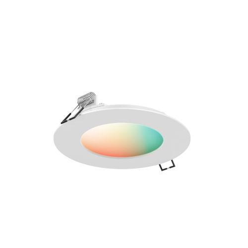White RGB LED Recessed Panel light
