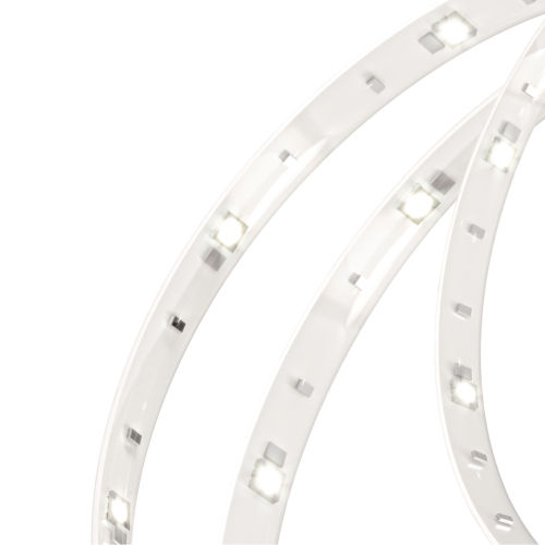 White 17W Three-Inch RGB Indoor Tape LED Light Kit