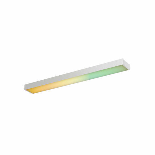 White 24-Inch Smart RGB and CCT LED Under Cabinet Linear Kit