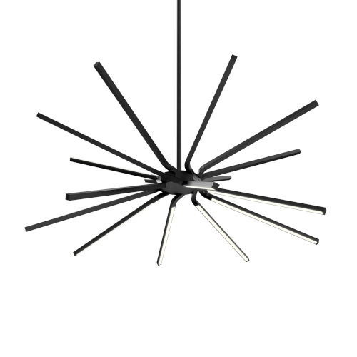 Black LED Star Pendant