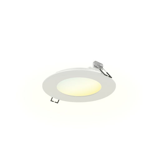 White ADA LED Recessed Panel