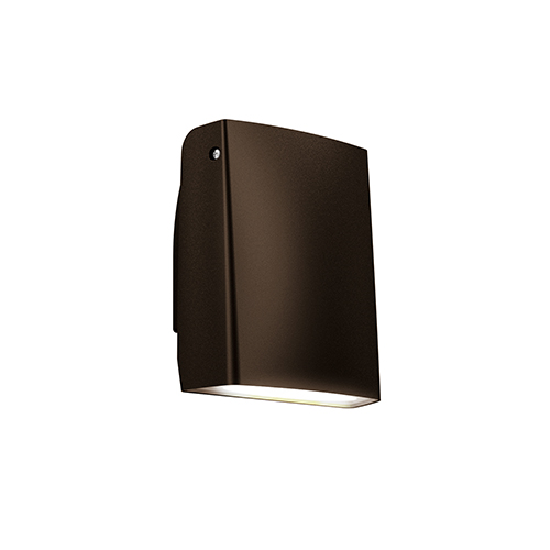 DALS Lighting Bronze LED Adjustable Outdoor Wall Sconce