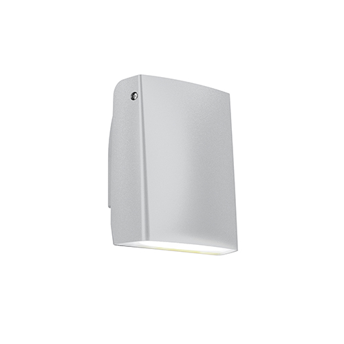 Satin Grey LED Adjustable Outdoor Wall Sconce