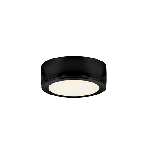 DALS Lighting PowerLED Black LED Under Cabinet Puck Light