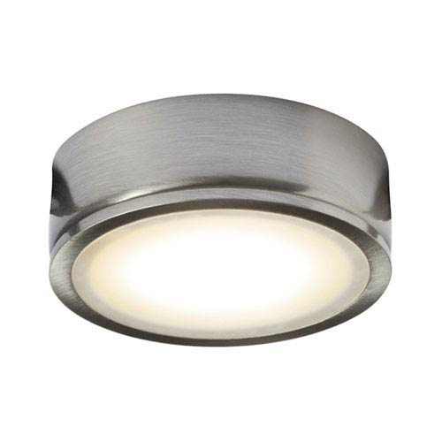 Power Satin Nickel 4.5W LED Puck Light
