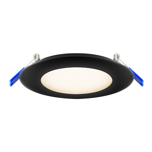 Black LED Recessed Panel