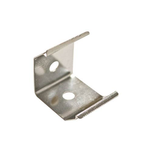 Cove Linear Series Silver 45-Degree Clips