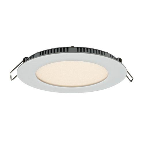 Designer Series White 9W 3000K 620 Lumens Energy Star Round LED Recessed Panel