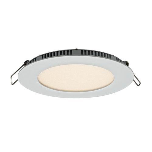 DALS Lighting Designer Series Satin Nickel 9W 3000K Energy Star Round LED Recessed Panel