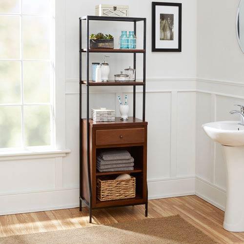 Magnolia Bathroom Collection Storage Linen Cabinet