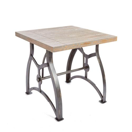 Liam Industrial Collection End Table