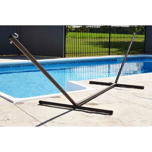 15ft 3-Beam Hammock Stand - Oil Rubbed Bronze