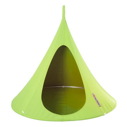 Vivere Single Cacoon Hammock Leaf Green