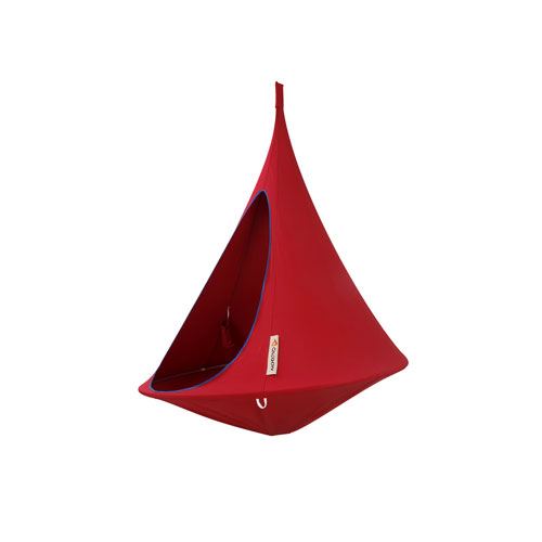 Vivere Single Cacoon Hammock Chili Red