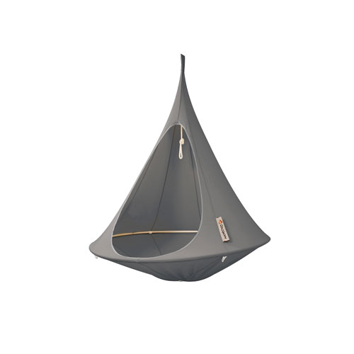 Vivere Single Cacoon Hammock Taupe