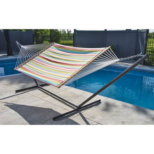 Vivere Quilted Fabric Hammock - Double (Ciao)