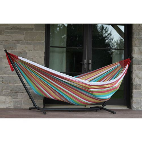 Vivere Double Salsa Hammock With Stand (9ft)