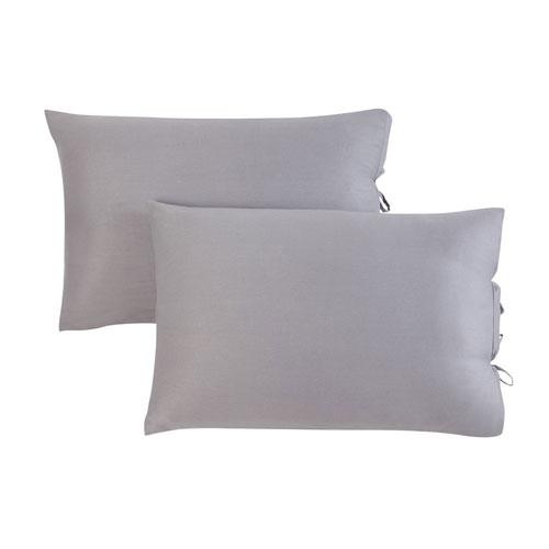 Kensie Home Ingrid Warm Grey Pillow Sham