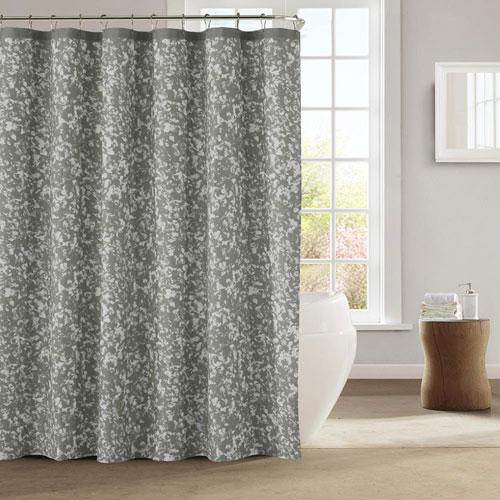 Susie Silver Shower Curtain