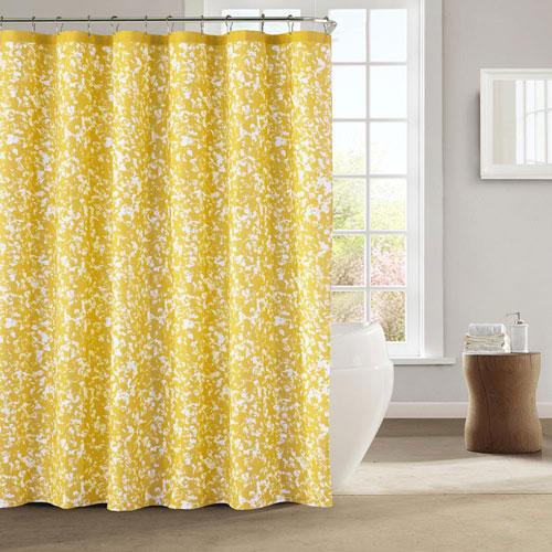 Susie Yellow Shower Curtain