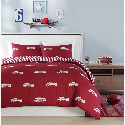 Franklin Red Twin Two-Piece Comforter Set