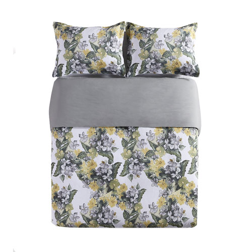 Aria Multicolor Queen Three-Piece Duvet Set