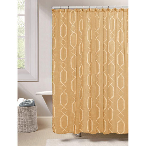 Arcadia Amber Shower Curtain