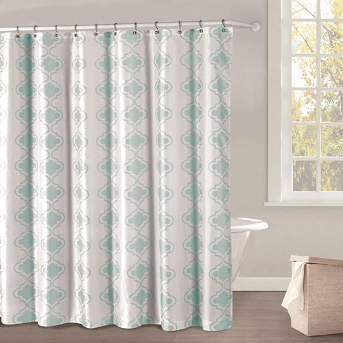 Duck River Textile Crystal Royal Blue Peva Shower Curtain Set