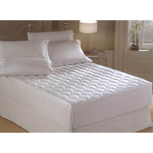 Harmony Twin Microfiber Quilted Mattress Pad