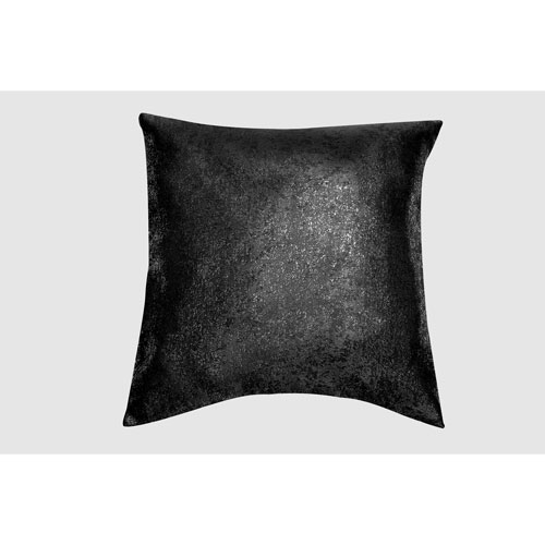 Maddie Black 20 In. Throw Pillow Cover