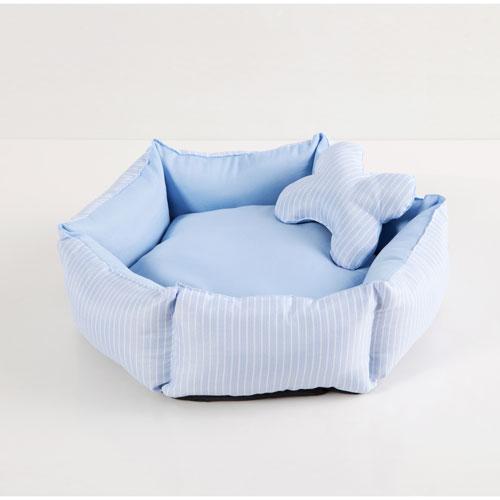 Duck River Textile Piper Blue Pet Bed