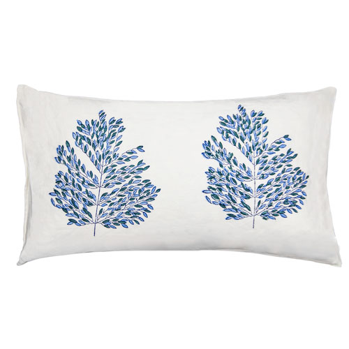 Tula Tree Pattern 12 x 24 In. Throw Pillow