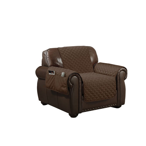 Wallace Chocolate Water Resistant Chair Cover