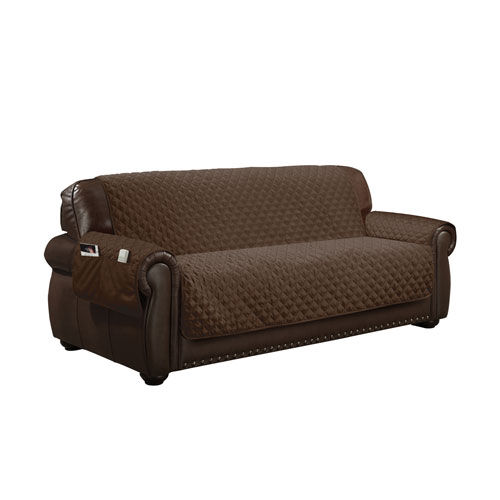 Wallace Chocolate Water Resistant Sofa Cover