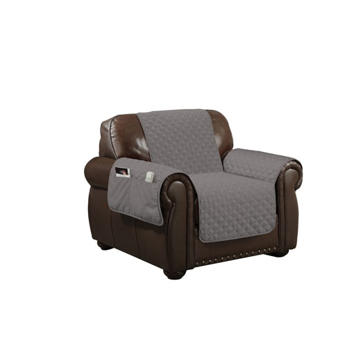 Wallace Grey Water Resistant Chair Cover