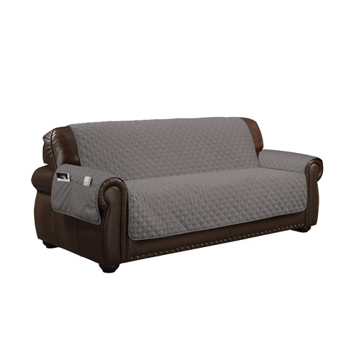 Wallace Grey Water Resistant Sofa Cover
