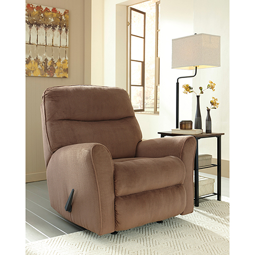 Cossette Rocker Recliner in Cocoa