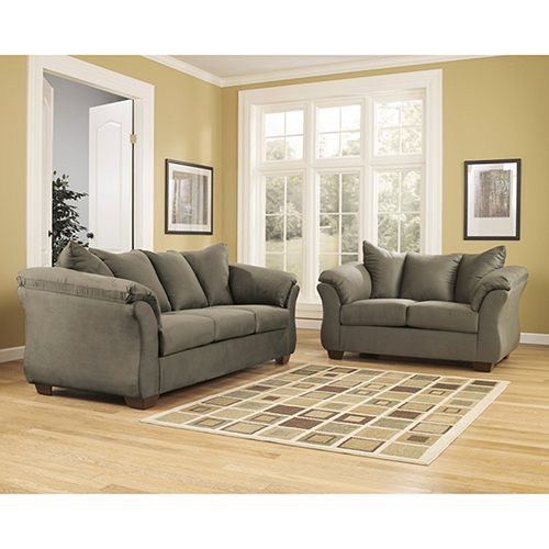 Darcy Living Room Set in Sage