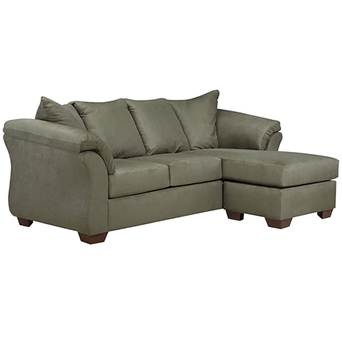 Darcy Sofa Chaise in Sage