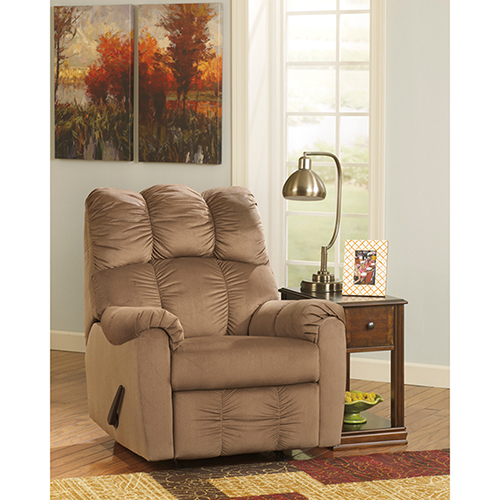 Raulo Rocker Recliner in Mocha