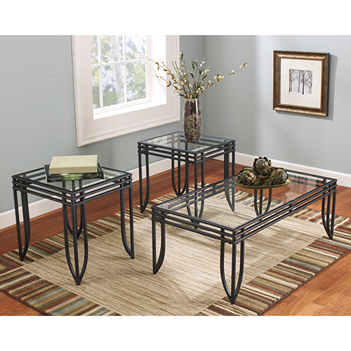 Exeter 3 Piece Occasional Table Set
