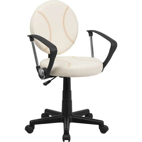 Baseball Task Chair with Arms