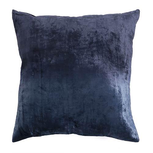 Ombre Navy Velvet 18 In. Pillow Cover